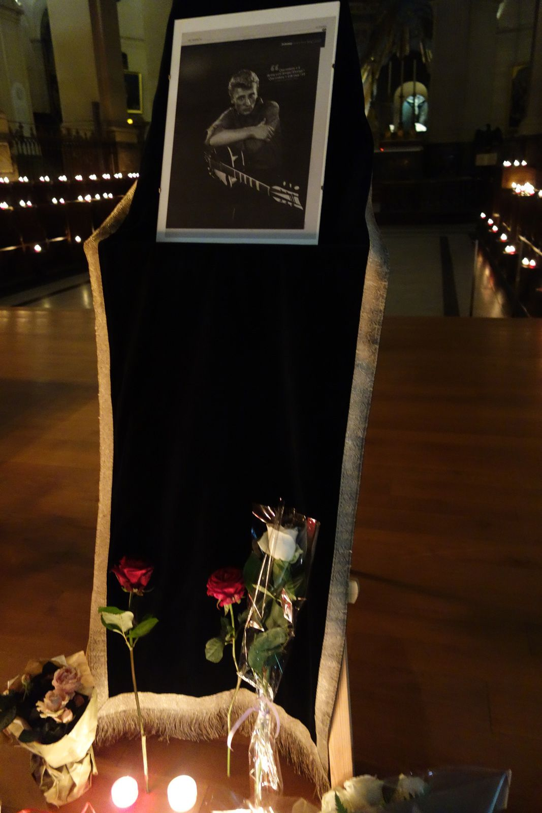 JOHNNY HALLYDAY dernier hommage (06/12/2017)
