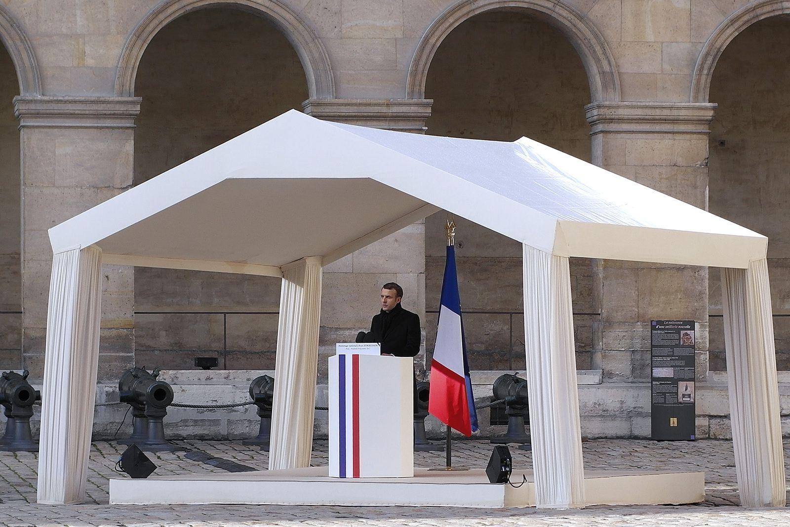 JEAN D'ORMESSON l'hommage National aux Invalides (08/12/2017)