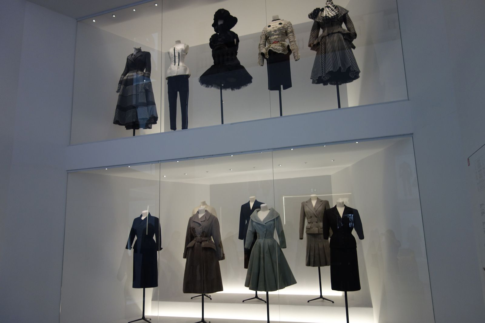 CHRISTIAN DIOR, l'exposition au Musée des Arts Décoratifs à Paris (5-7/01/2018)