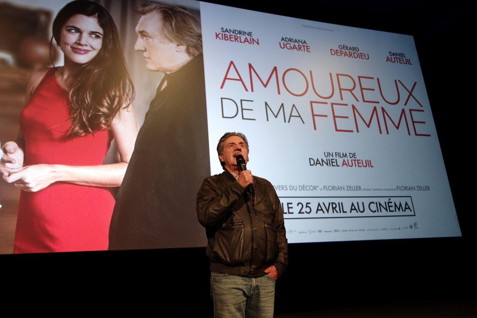 """DANIEL AUTEUIL à l'avant-première de son film """"AMOUREUX DE MA FEMME"""" (23/04/2018)"""