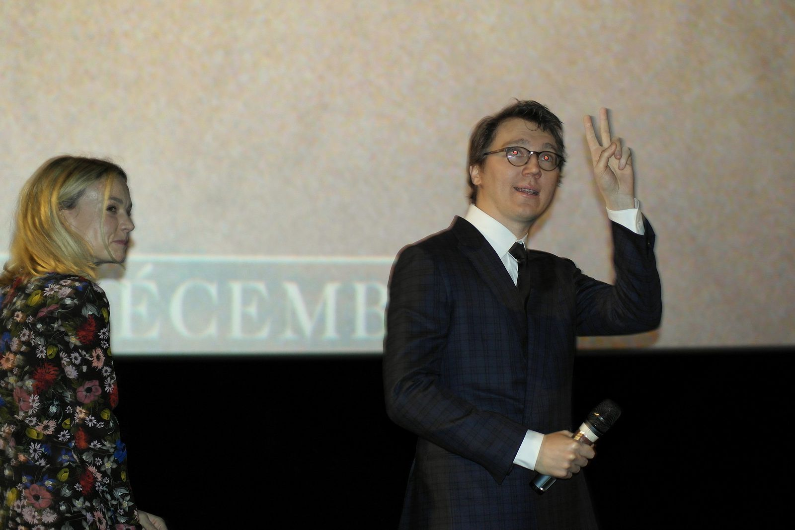 PAUL DANO, CAREY MULLIGAN, AP Wildlife à UGC Les Halles Paris (6/11/2018)