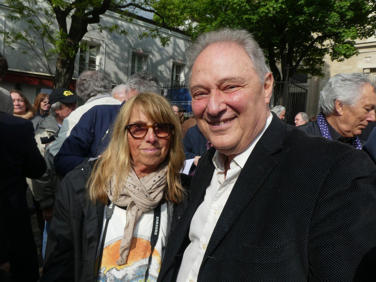 Avec Willy Lewis, premier batteur des Chats Sauvages