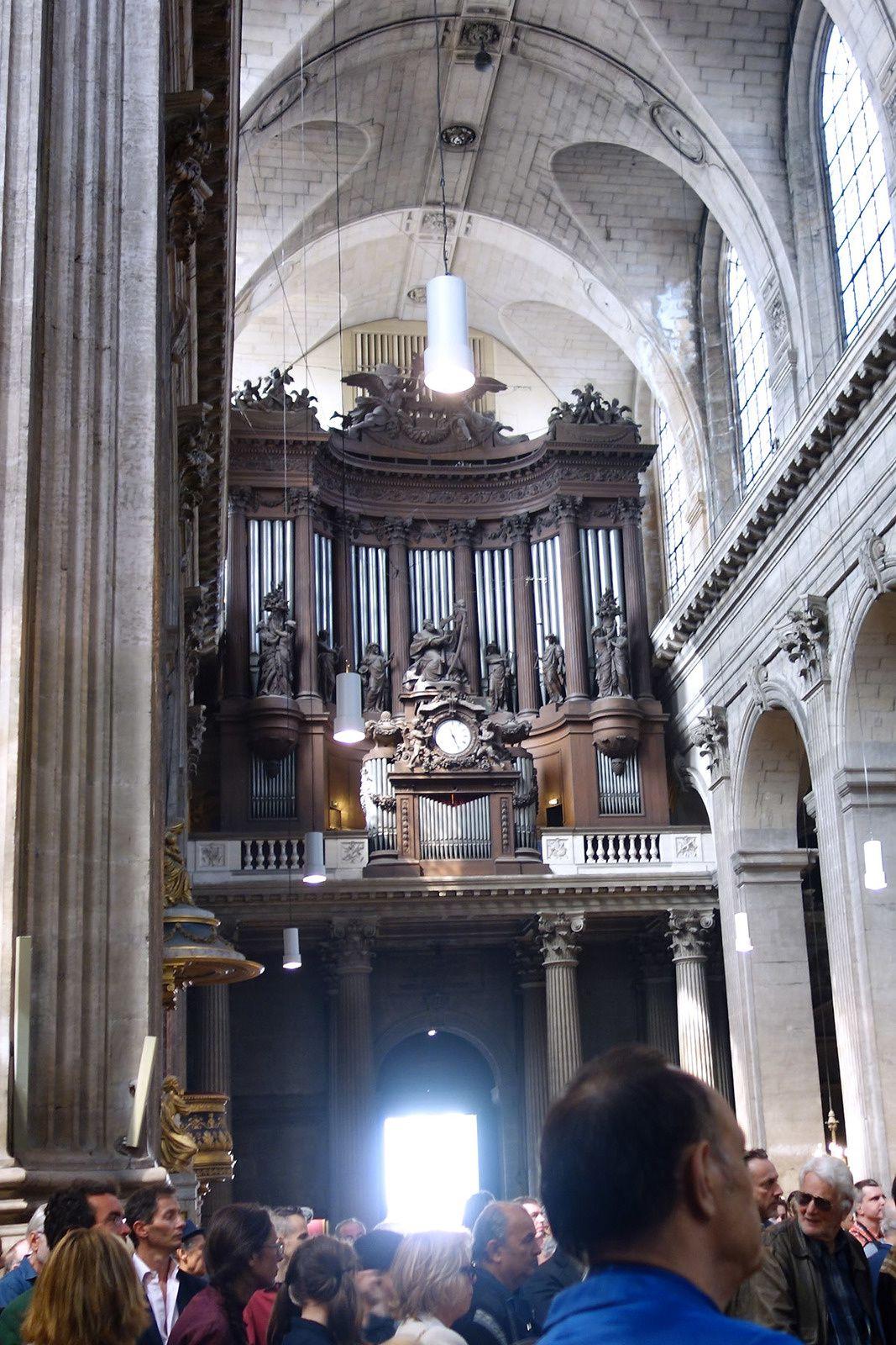 Hommage à JEAN-PIERRE MOCKY à l'église Saint-Sulpice à Paris (12/08/2019)