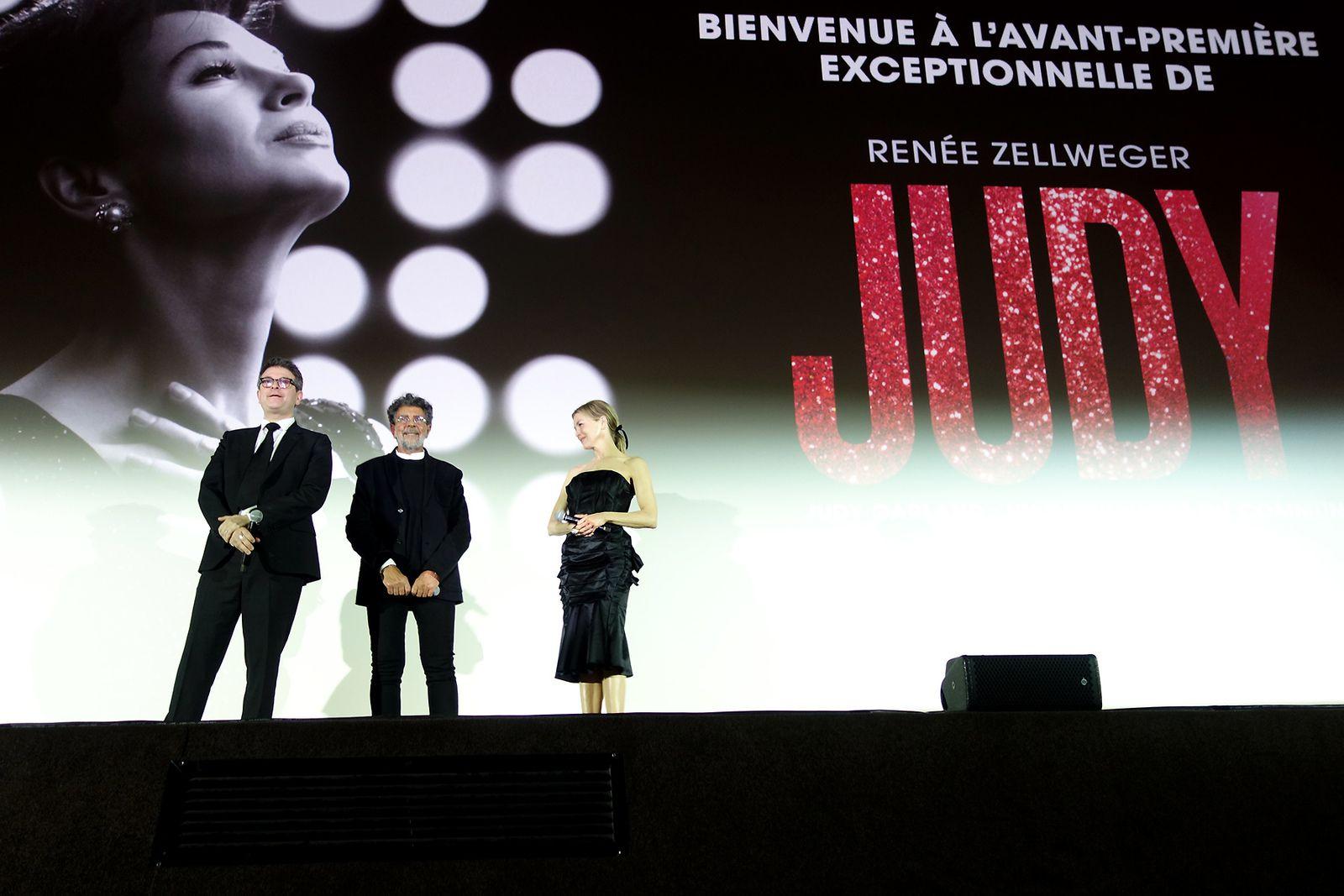 RENEE ZELLWEGER Avant-Première du film JUDY au Gaumont Champs-Elysées (04/02/2020)