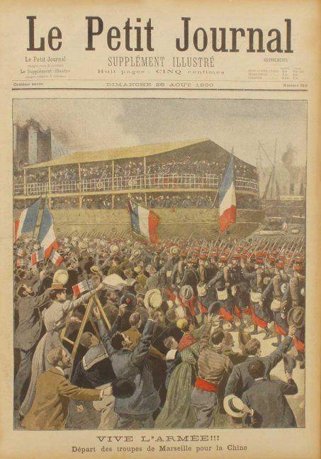 Départ des Troupes Française depuis Marseille