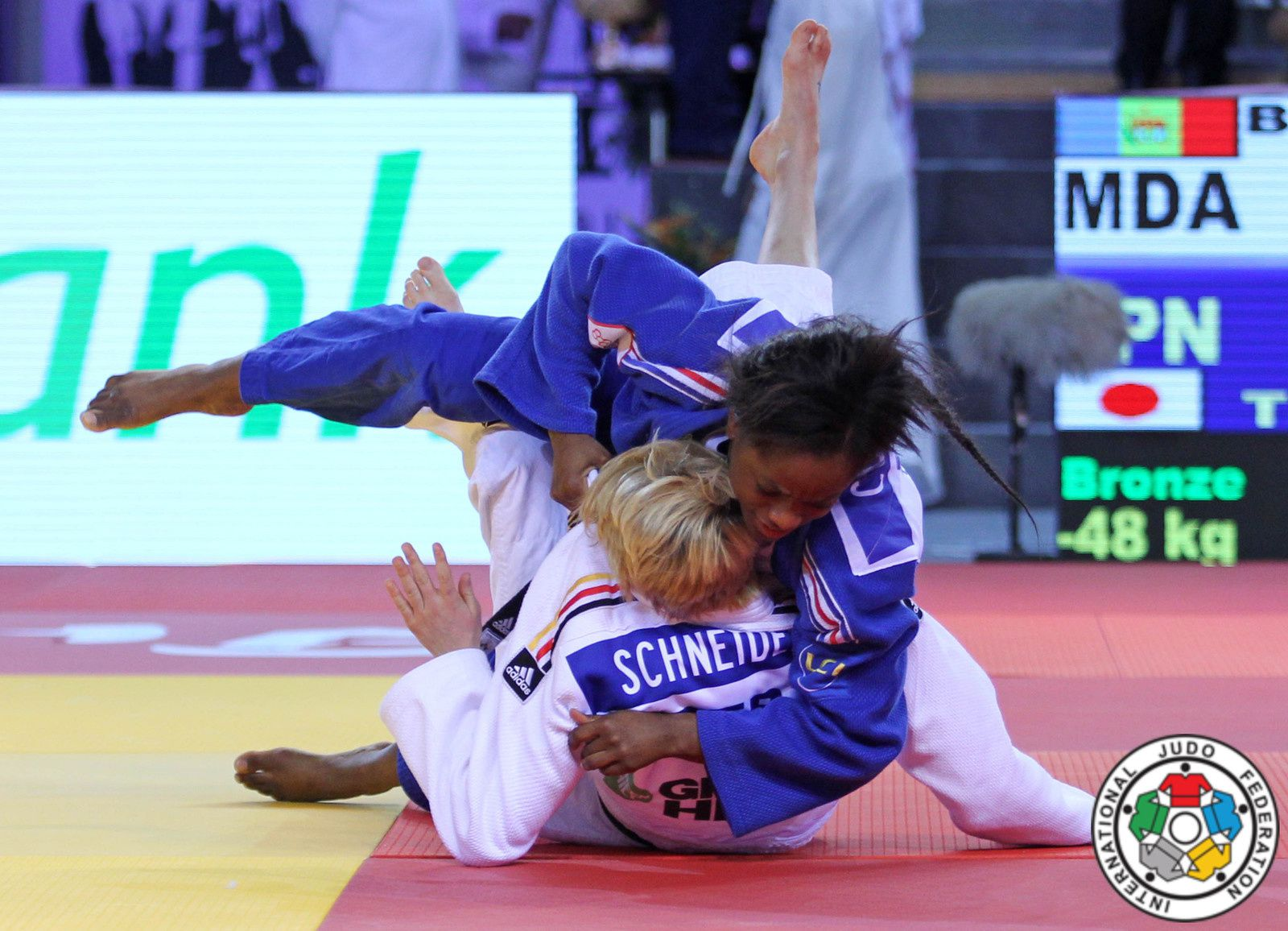 SEPHORA en pleine action lors d'une précédente compétition