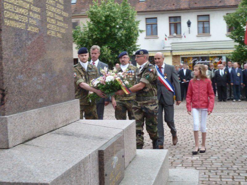 Cérémonie patriotique du 14 juillet à Neuf Brisach