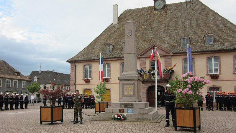 Monument aux morts Neuf Brisach