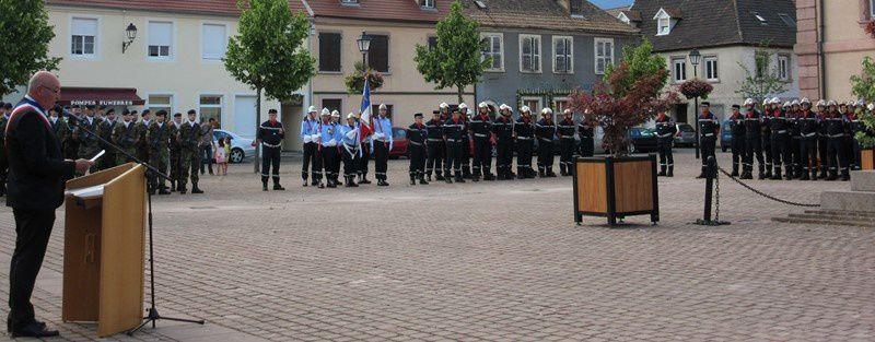 Cérémonie du 14 juillet à Neuf-Brisach