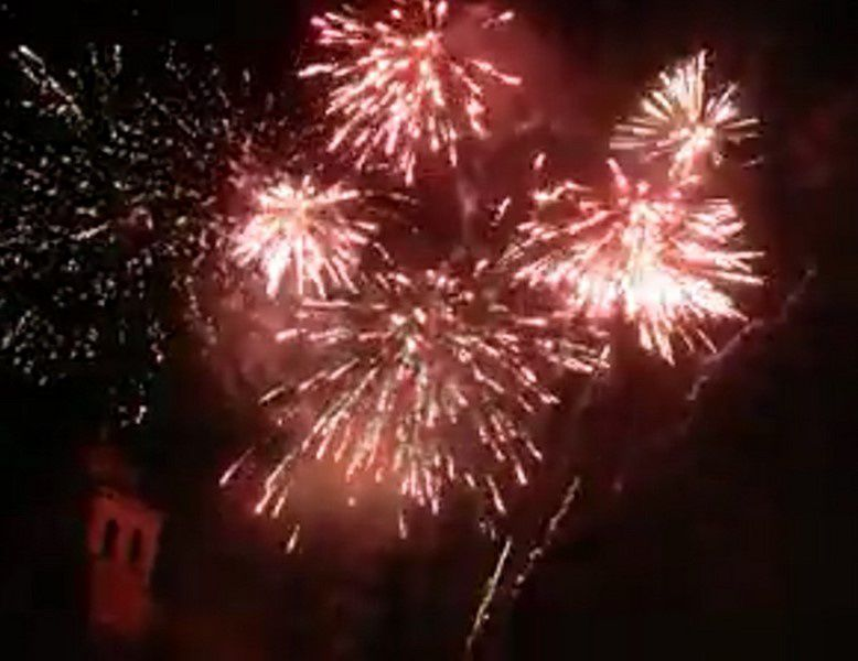 spectacle pyrotechnique musical Neuf Brisach 13 juillet 2018