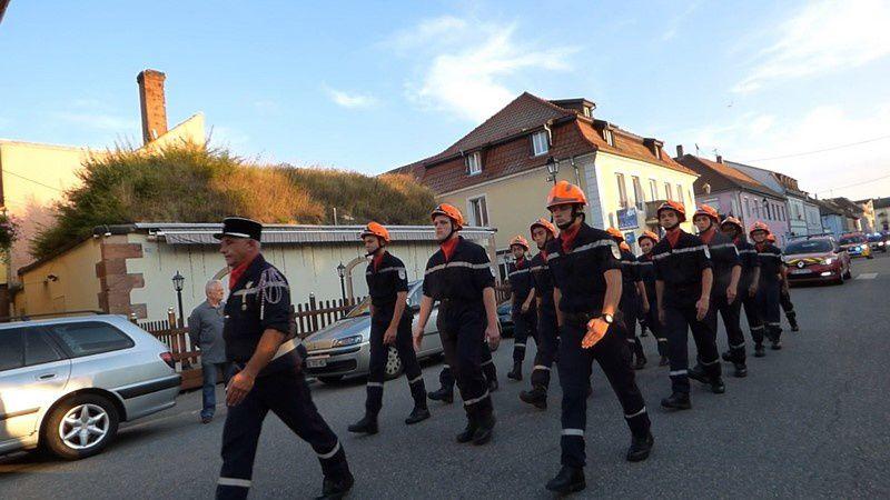 Défilé du 13 juillet 2018 à Neuf Brisach