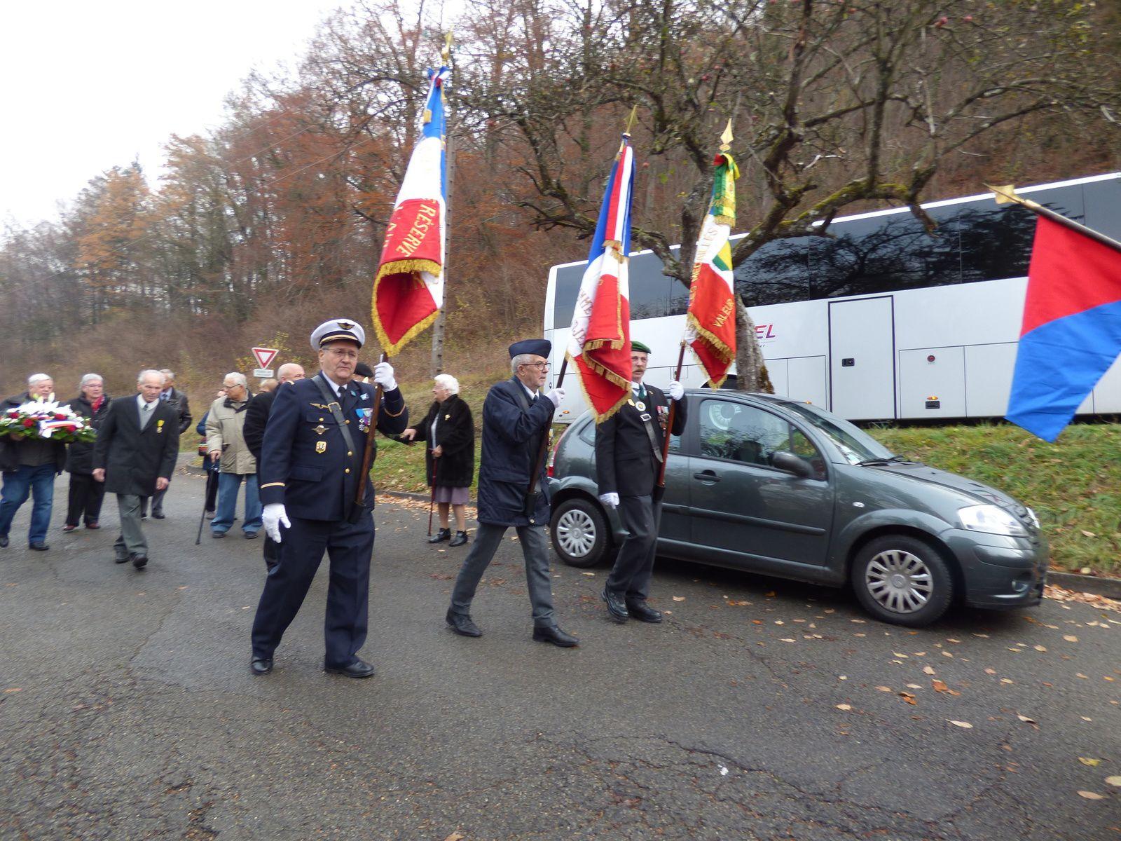 21 Novembre 2018 Hommage au Général Herr à Pont de Roide