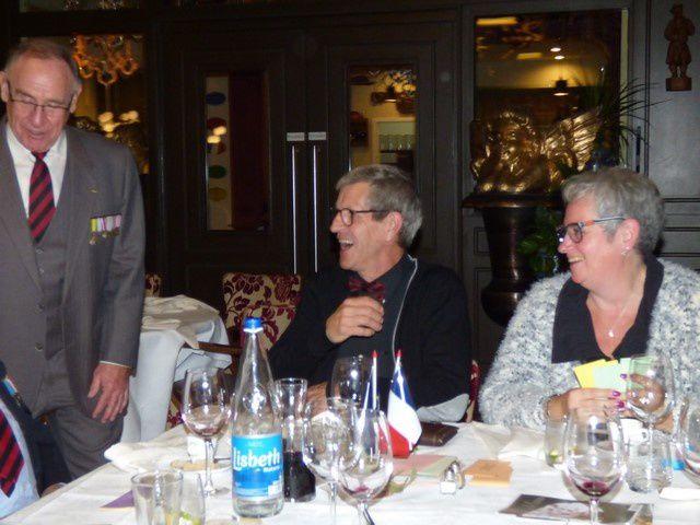 Sainte Barbe 2018 avec les Anciens du Génie du Haut-Rhin