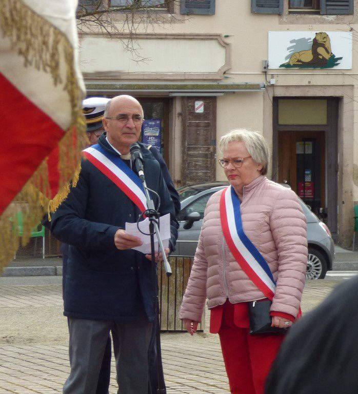Festivités autour du Jumelage Neuf-Brisach - Meilhan sur Garonne 2 mars 2019