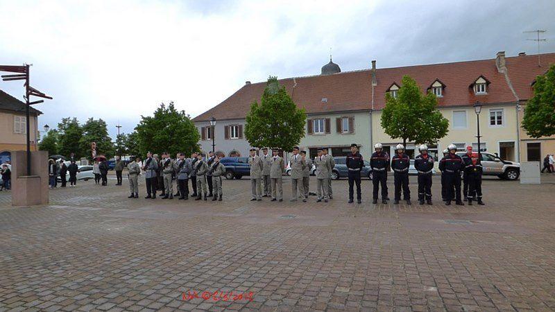 Cérémonie de la Commémoration du 8 Mai 1945 à Neuf-Brisach