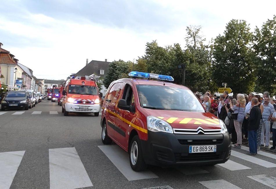 Festivités à Neuf-Brisach le 13 juillet 2019 Défilé (2/3)