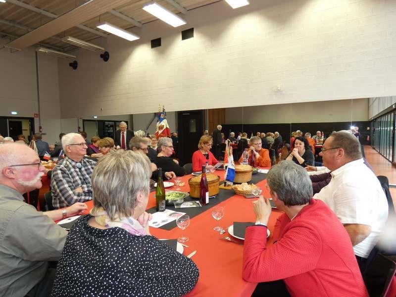 Sainte Barbe 2019 avec les Anciens du 1er Génie et de la Sape à Lingolsheim
