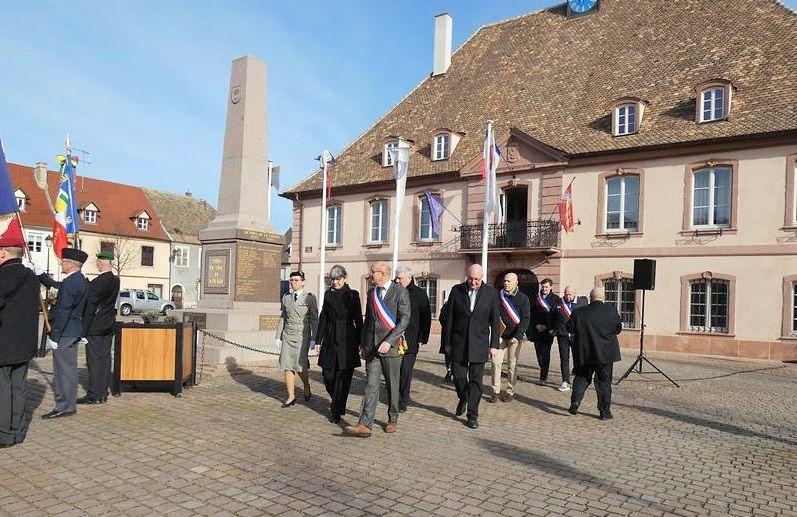 Cérémonie 75 ème Anniversaire de la Libération de Neuf-Brisach