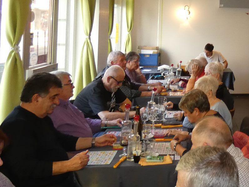 Loto 2020 avec les Anciens du Génie du Haut-Rhin à Cernay