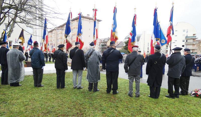 Colmar 17 février 2020 Cérémonie Nationale d'Hommage aux gendarmes décédés en 2019