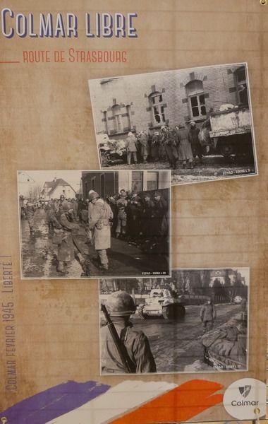Exposition 75ème Anniversaire de la Libération de Colmar au KoÏfhus