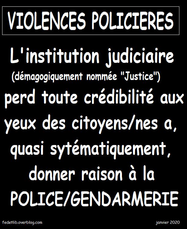 INSTITUTION JUDICIAIRE