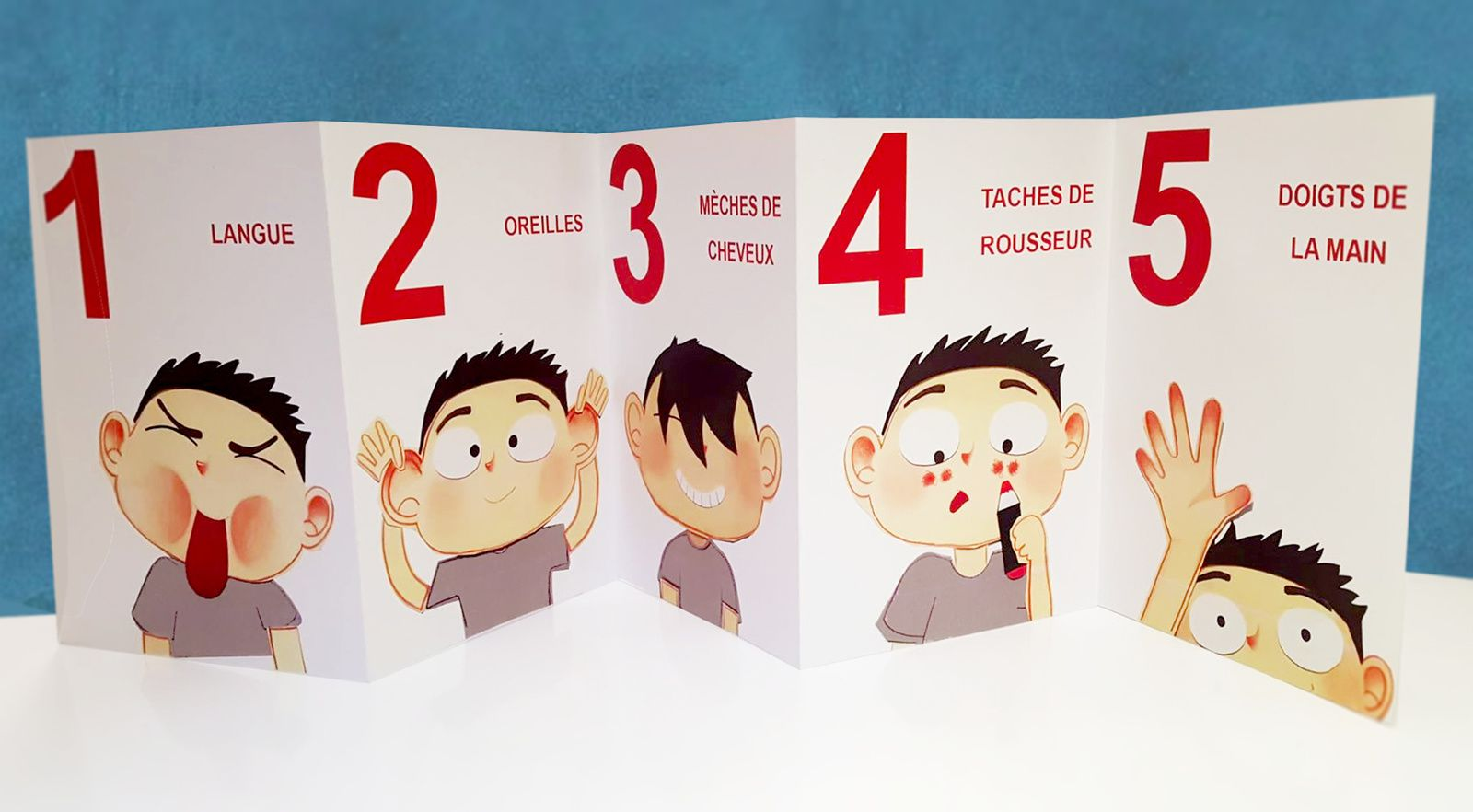 1,  2,  3,  4,  5 !
