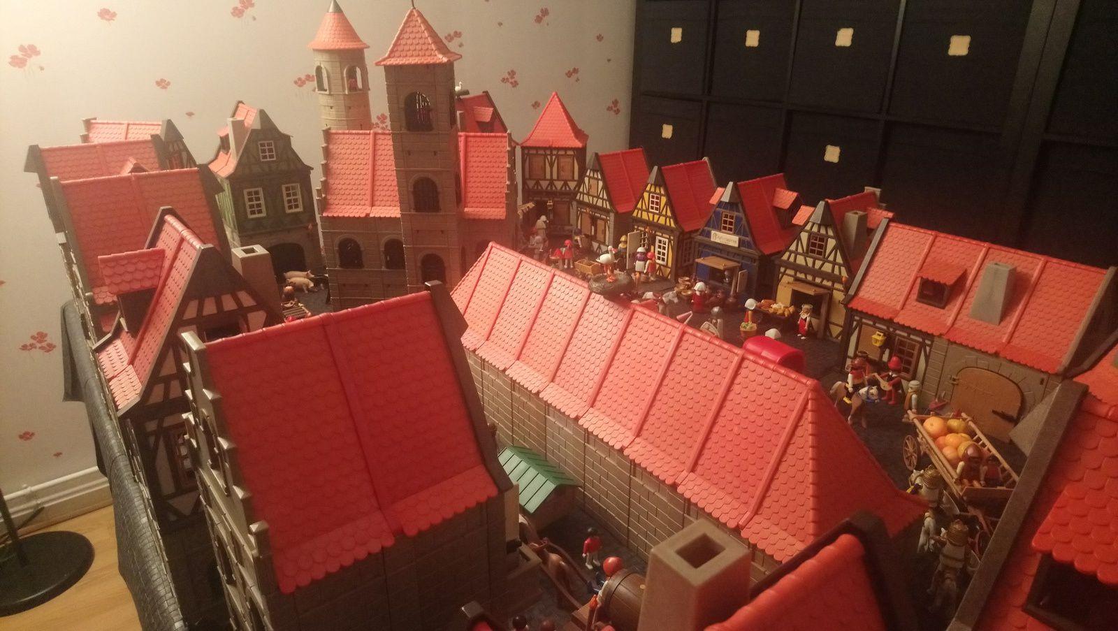Quelques vues d'un quartier de Niederplay.