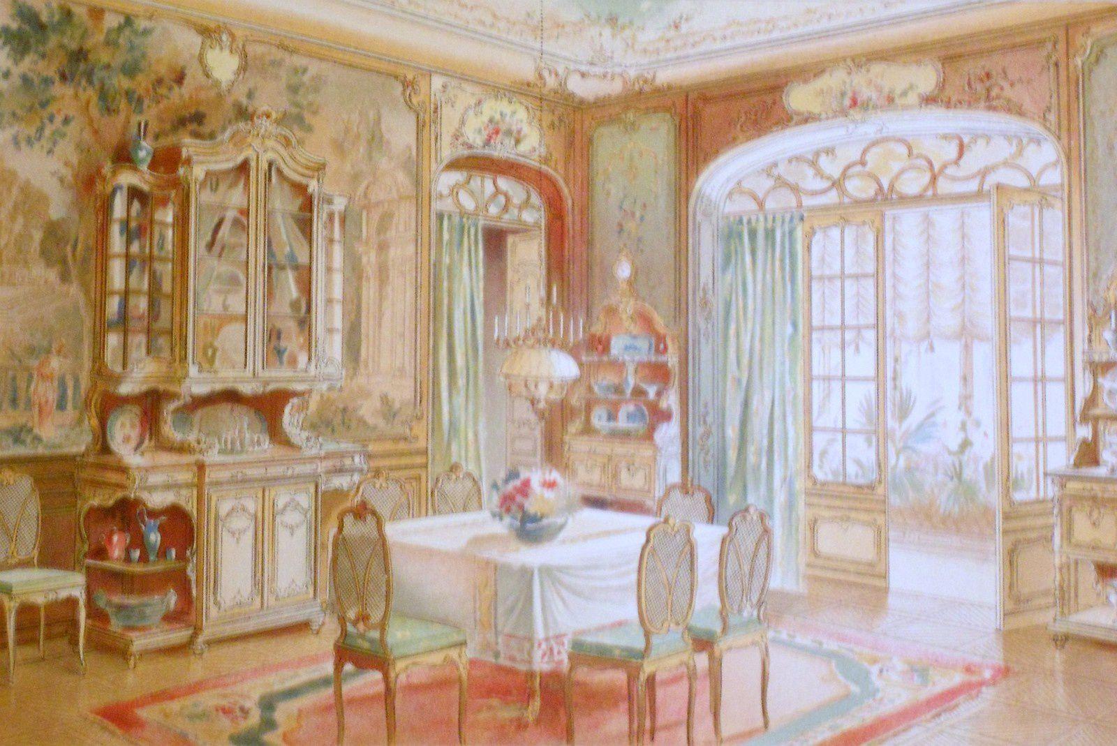 Salle à manger Louis XV