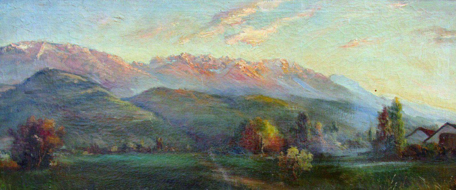 Vallée du Grésivaudan et le massif de Belledonne