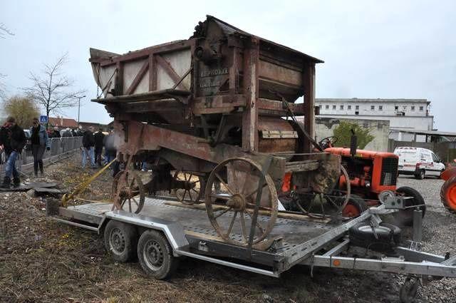 tracteurs VENDEUVRE fabrication a Dieppe années 50/60