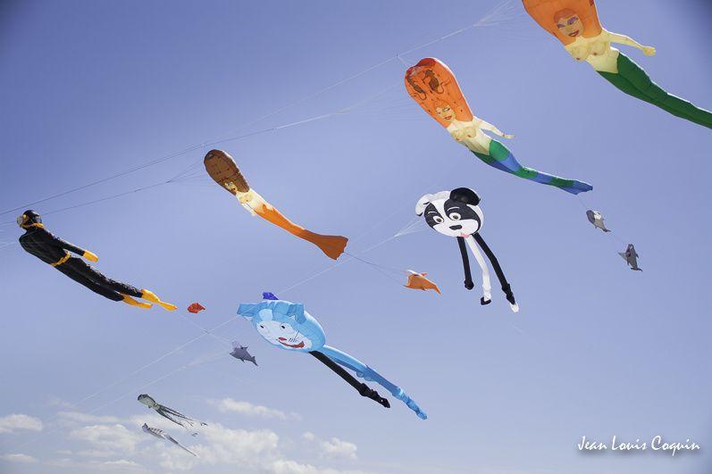 rencontre cerfs volants CAYEUX SUR MER photos aériennes
