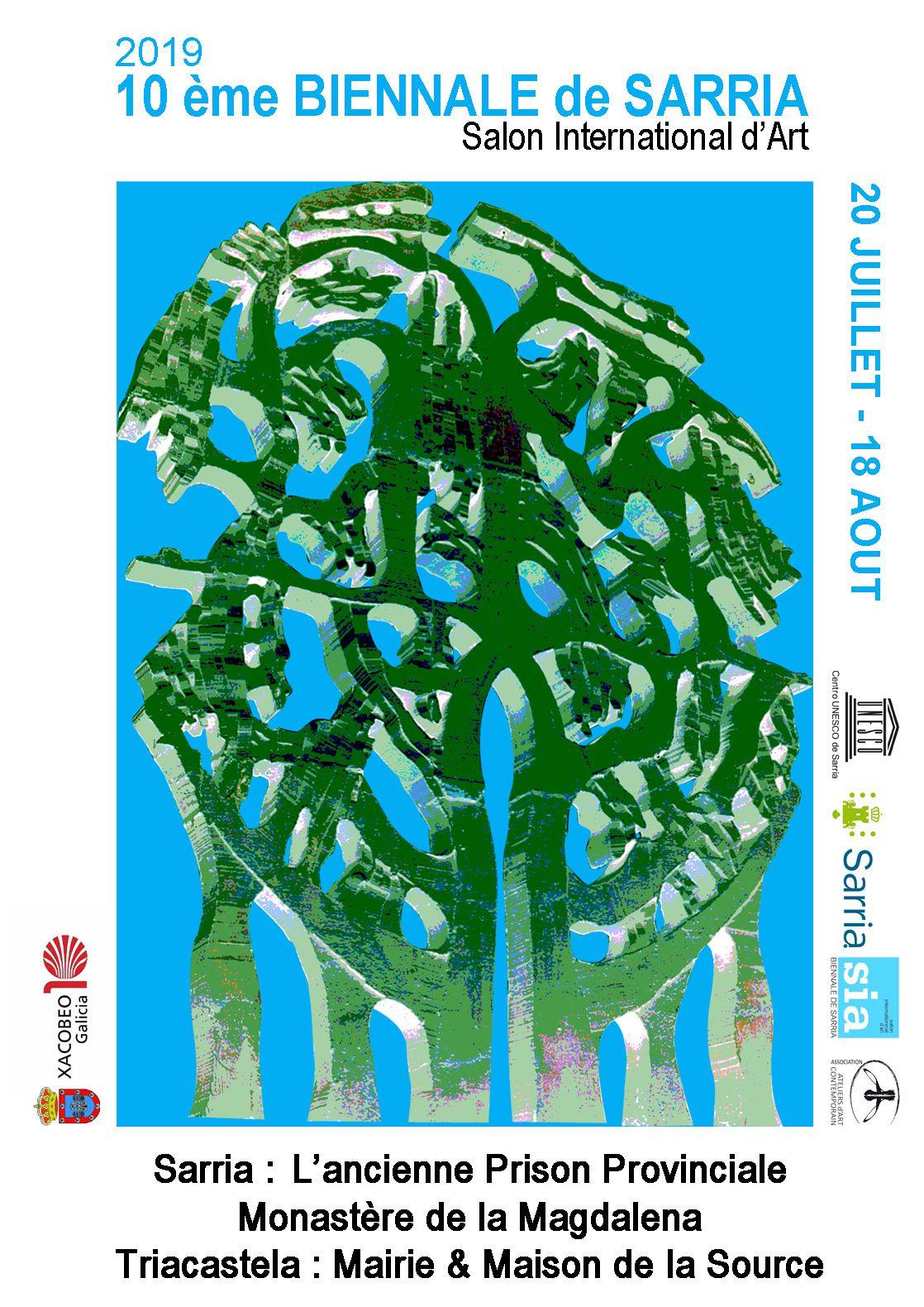 Appel à candidature, 10ème Biennale de SARRIA en Galice (Espagne)