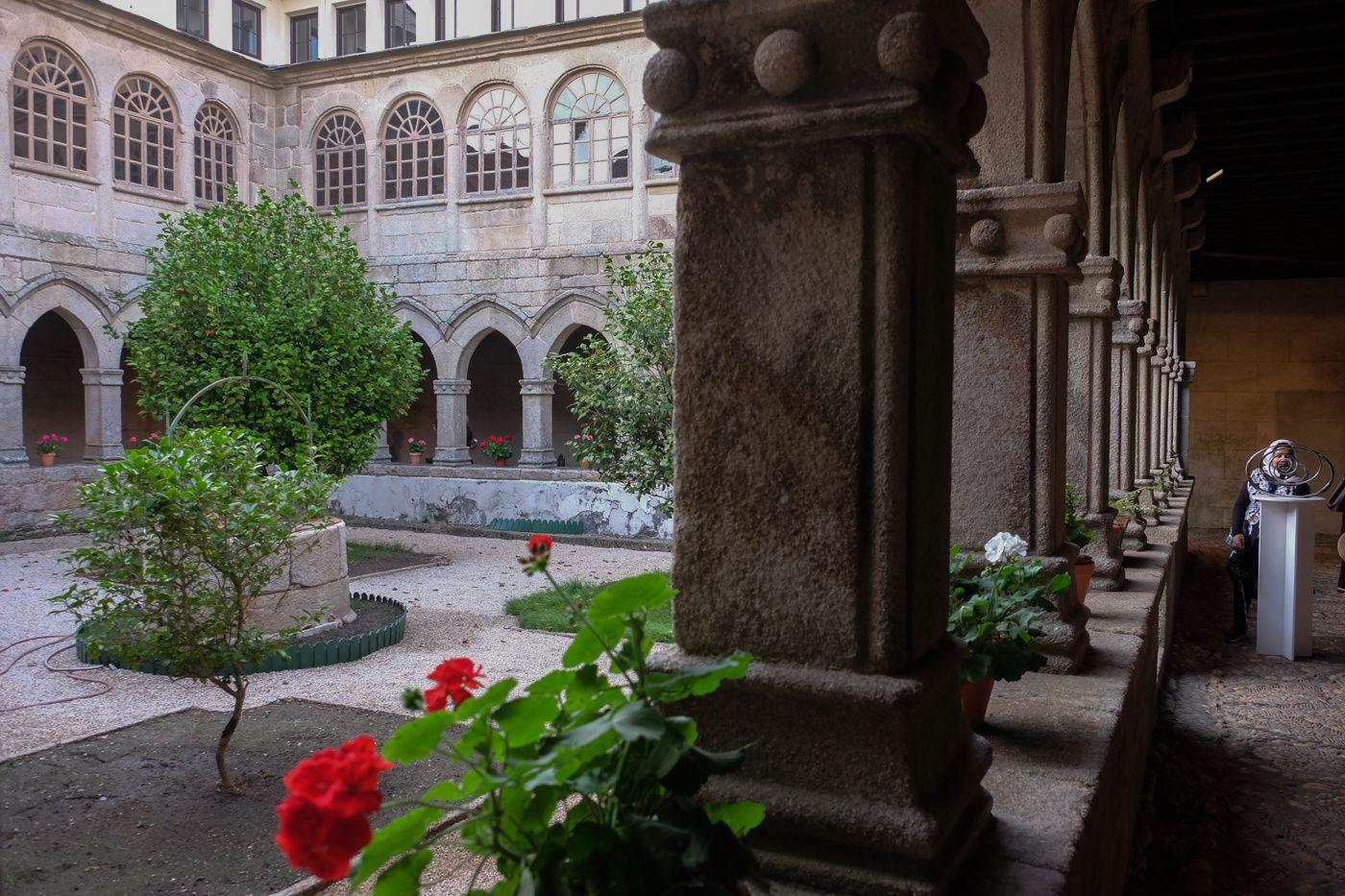 Au monastère de la Magdalena...