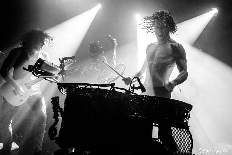 NOTHING MORE @ LES ETOILES   05-12-2017