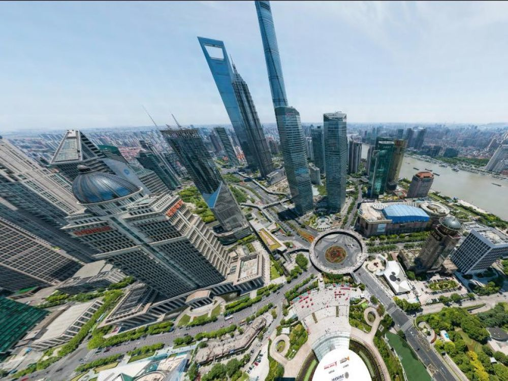 Shanghai - 195 Billion Pixels - Almost endless zooming capability