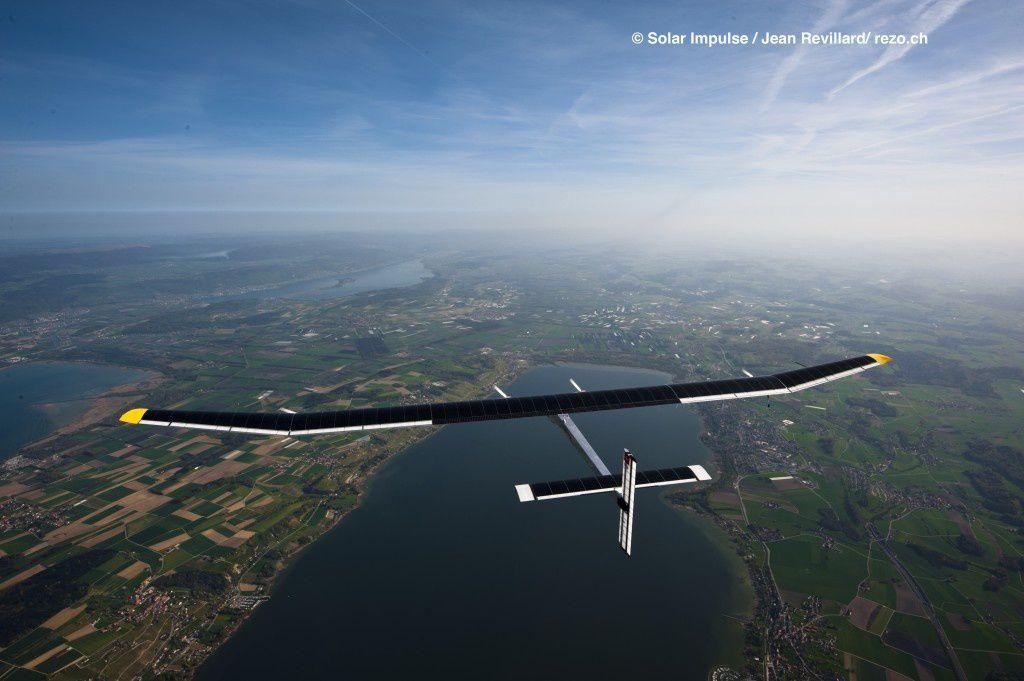 Around The World In A Solar Plane