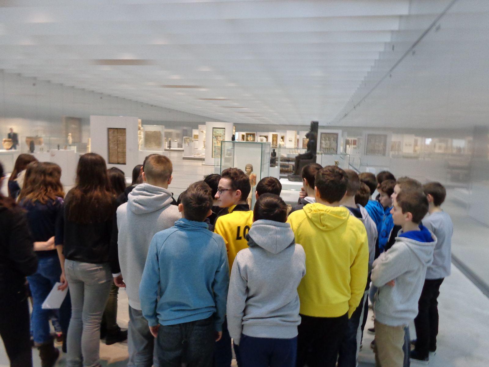 Visite de la Galerie du Temps