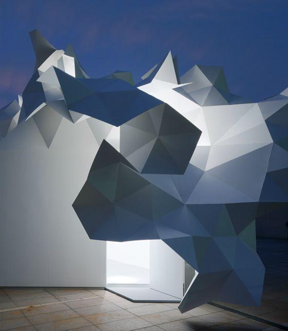 ARTPLA Confiné / DEFI N°1  ARCHITECTURE /  Une architecture Pli -Lumière