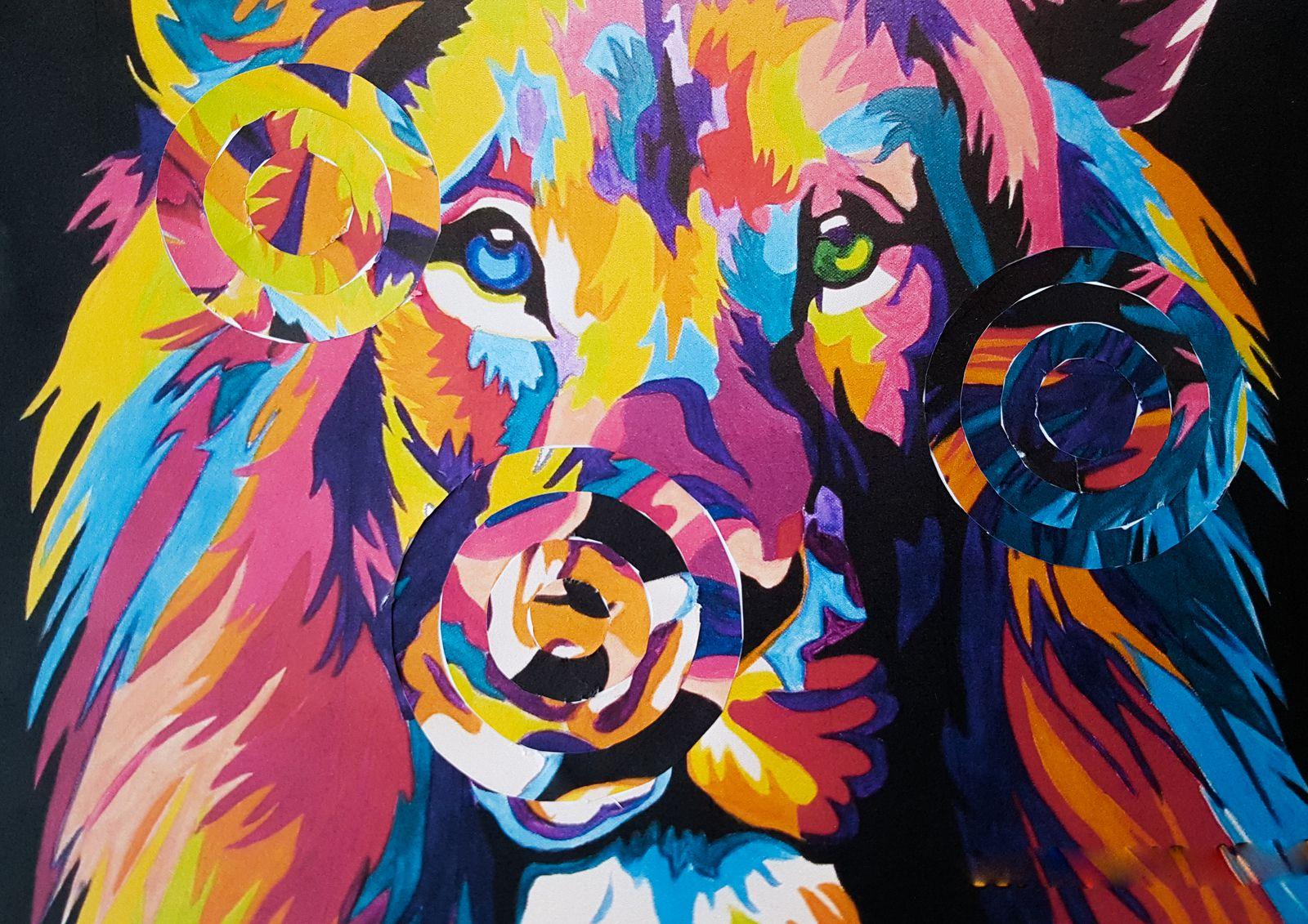 Le Lion terrifiant d'Abbie D , 4e 2
