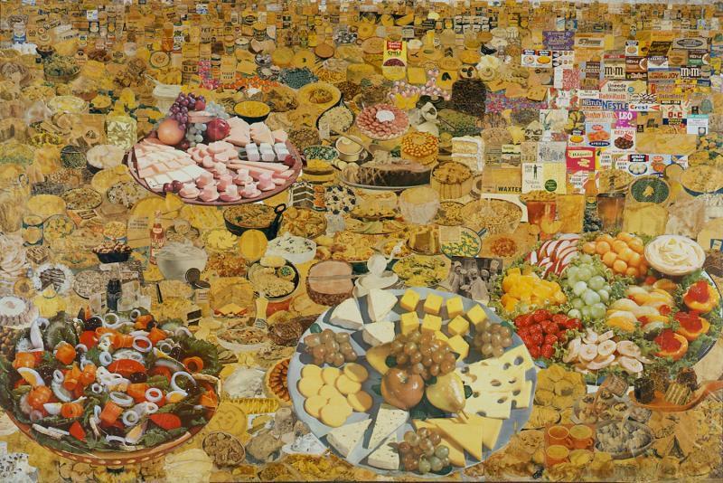 Erró, Foodscape, 1964