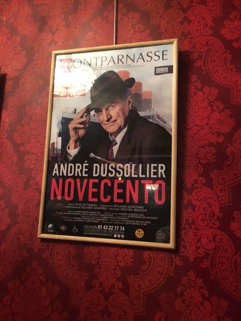 Novecento, quand Dussolier fait danser Baricco