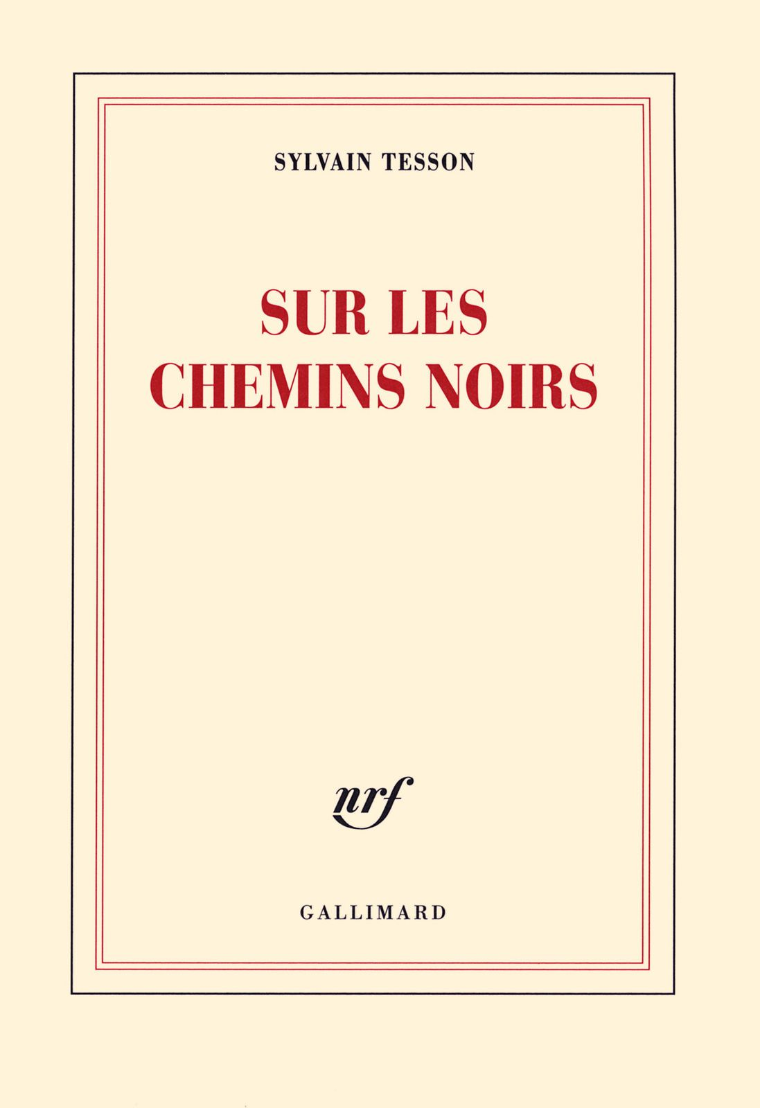 Couverture Gallimard