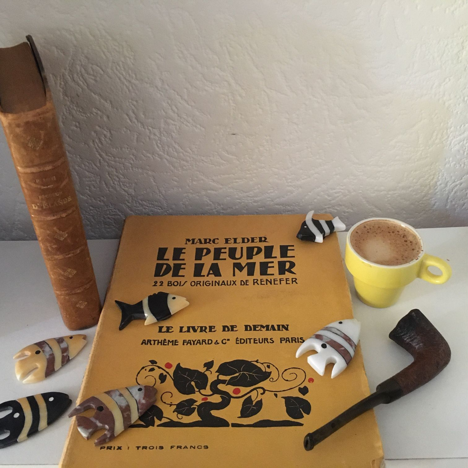 Confinement créatif : Anne, café au large