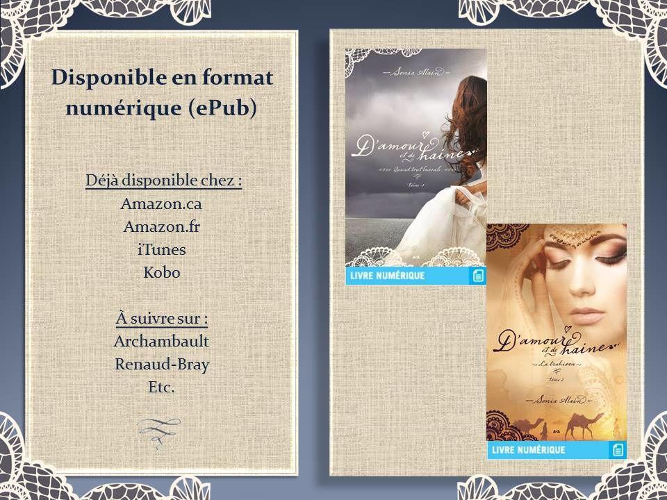 """Ma série """"D'amour et de haine"""" est désormais disponible en numérique"""