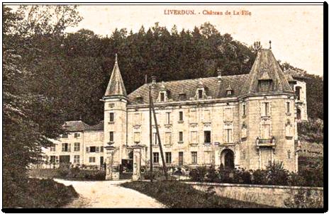 Le château de la Flie construit par Nicolas Noël