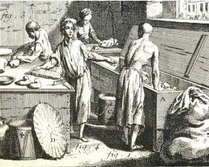 Boulangerie au 18ème siècle