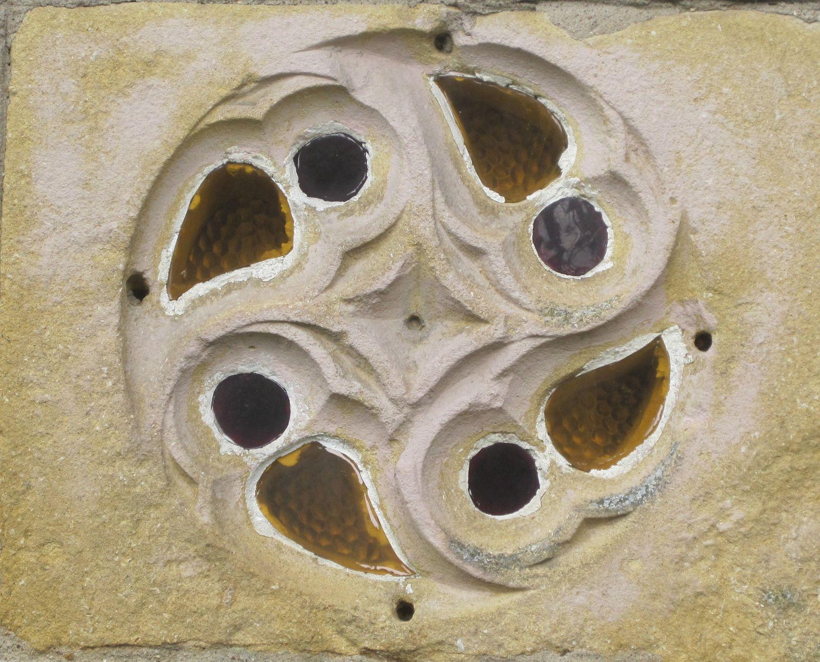 Oculus (choeur de l'église de Veymerange)