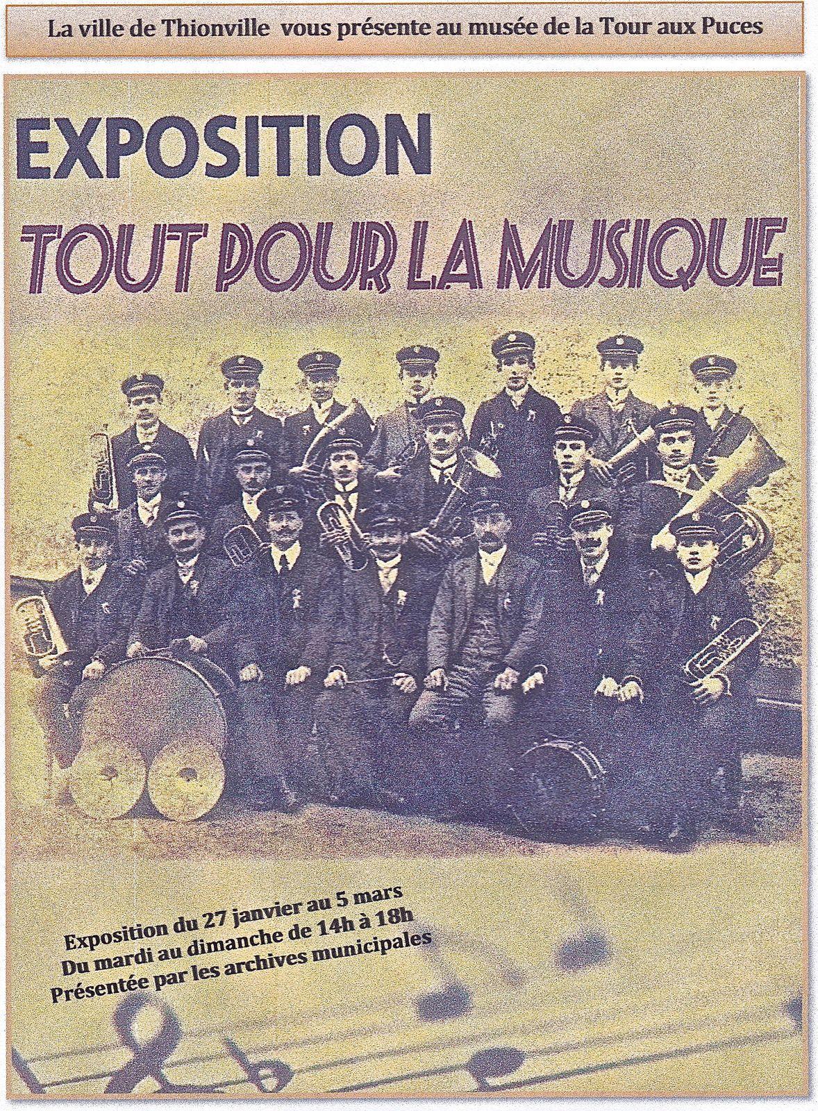 Thionville - Exposition: Tout pour la musique