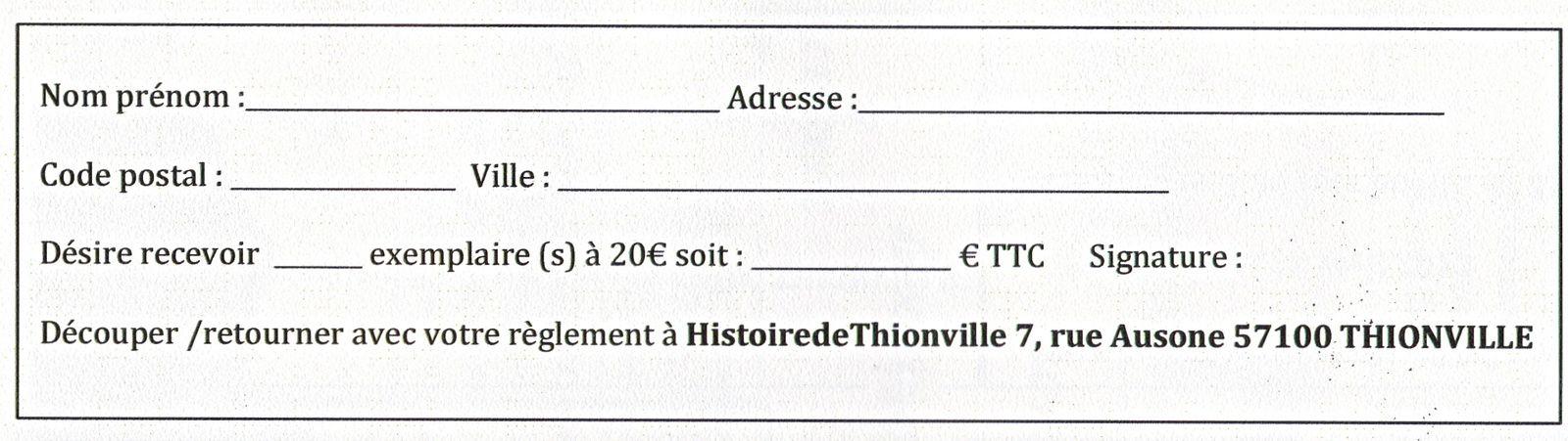IMPORTANT:  Bon de souscription a retourner avec votre chèque établi à l'ordre de Michel Persin